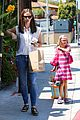 jennifer garner seraphina ballet pickup after lunch with violet 08