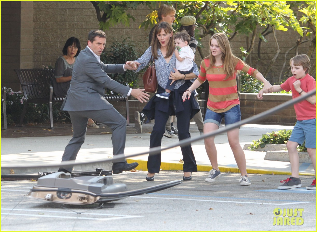 jennifer garner steve carell family freakout for alexander 15