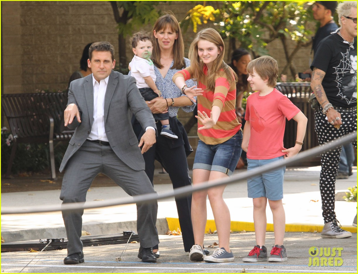 jennifer garner steve carell family freakout for alexander 16