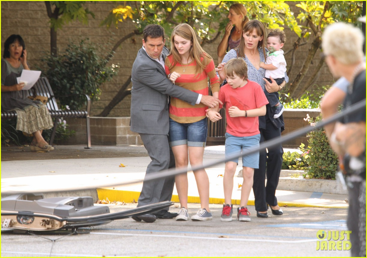 jennifer garner steve carell family freakout for alexander 23