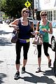 ashley greene works out twice in one day 21