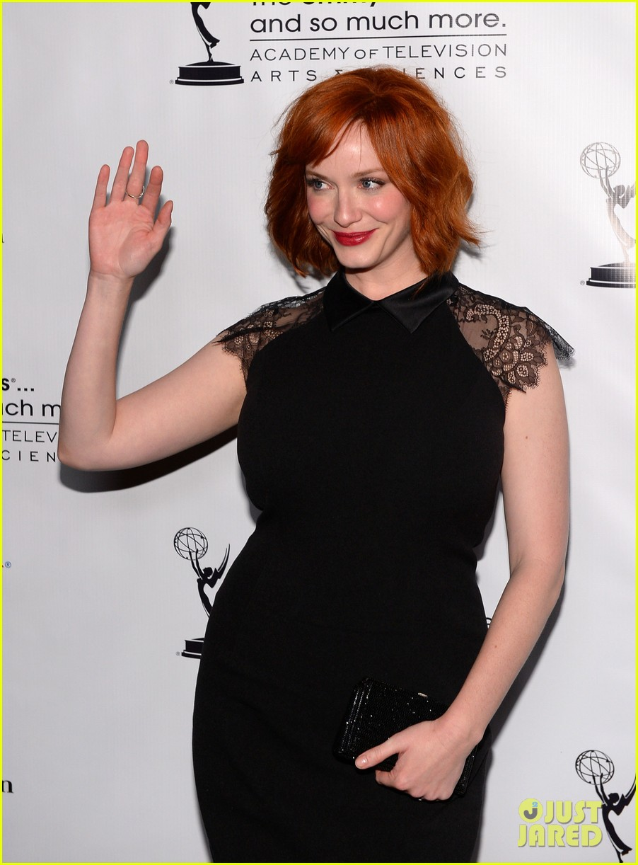 christina hendricks aaron paul performers peer reception 112933921