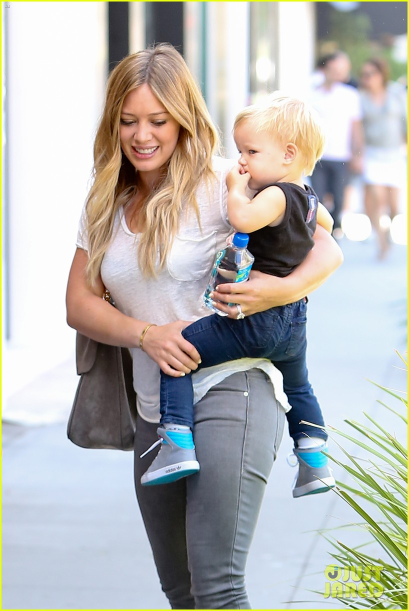 hilary duff mike comrie we definitely want more kids 08