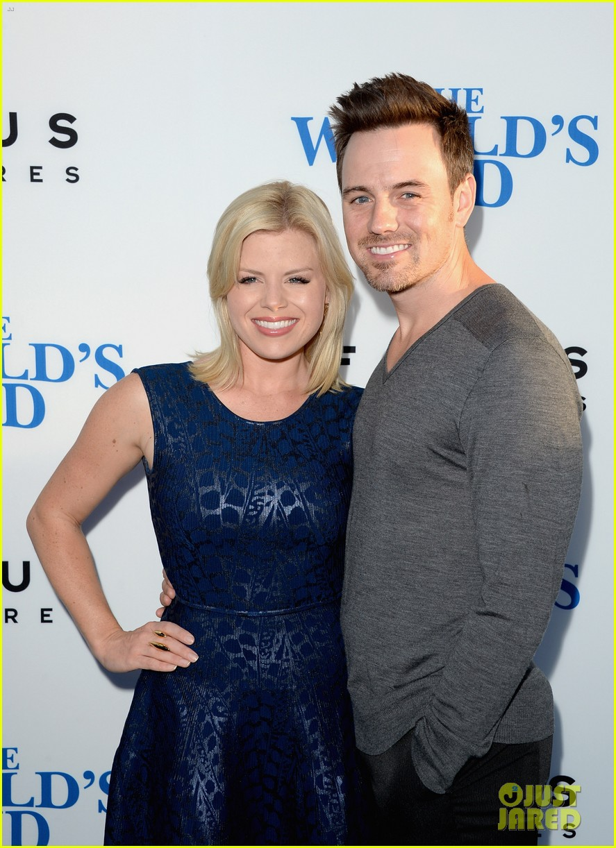 megan hilty brie larson worlds end hollywood premiere 282935284
