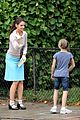 katie holmes plays hopscotch on miss meadows set 21