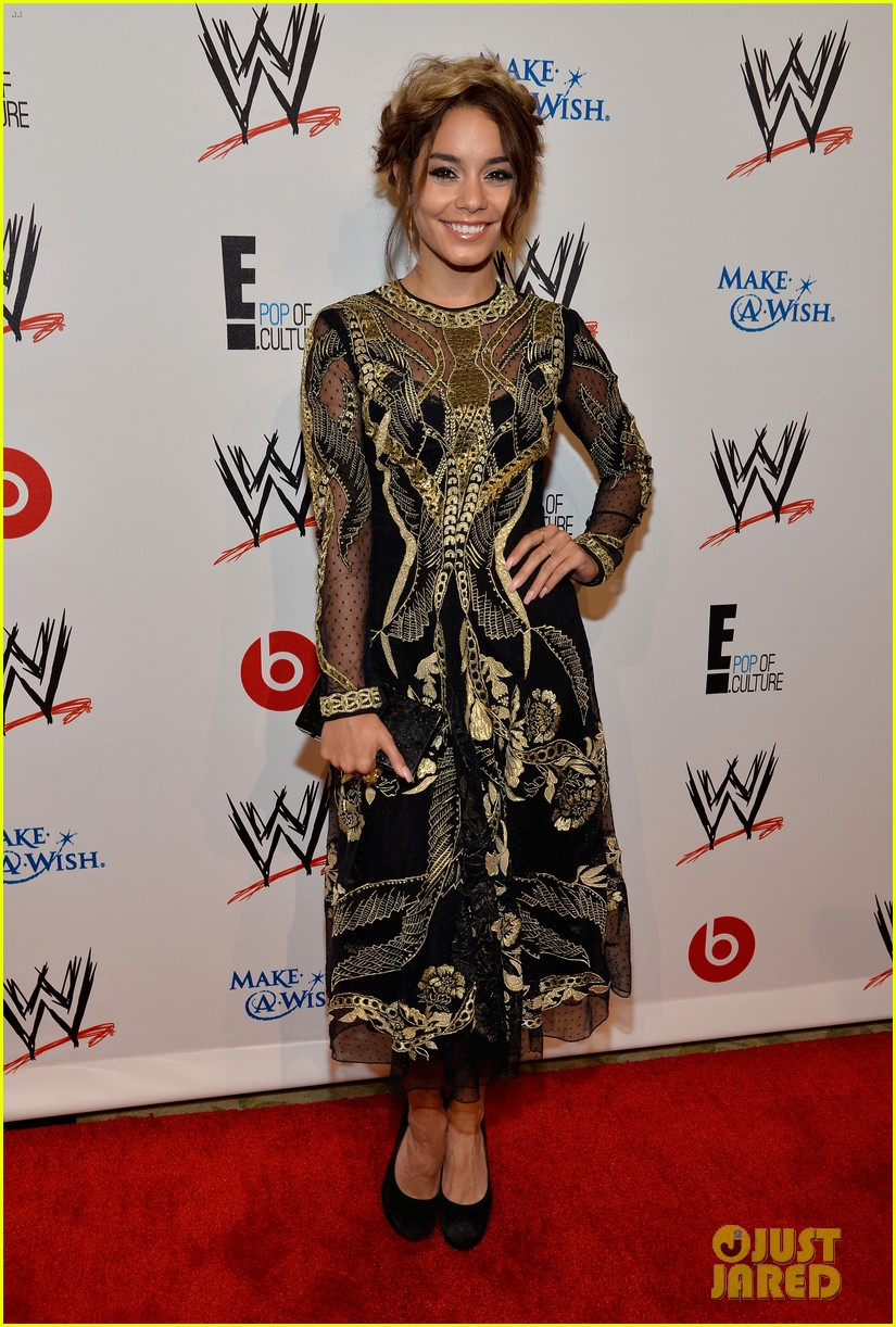 vanessa hudgens wwe superstars for hope event 012931156