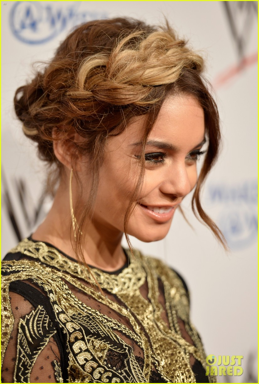 vanessa hudgens wwe superstars for hope event 04