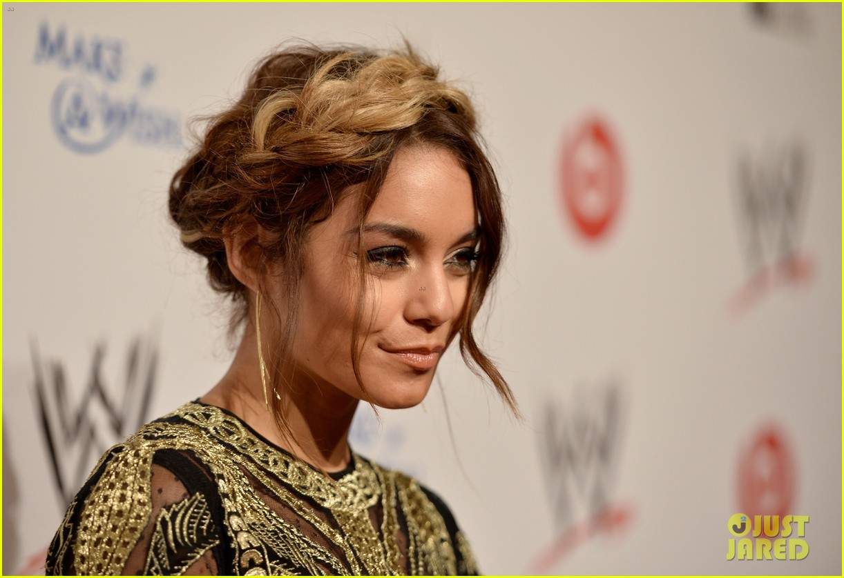 vanessa hudgens wwe superstars for hope event 062931161