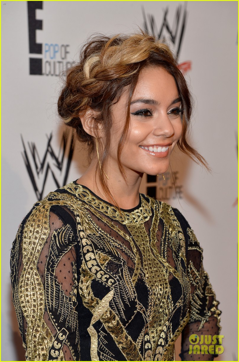 vanessa hudgens wwe superstars for hope event 072931162