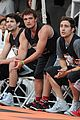 josh hutcherson james lafferty sbnn basketball game 08