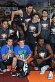 josh hutcherson james lafferty sbnn basketball game 20