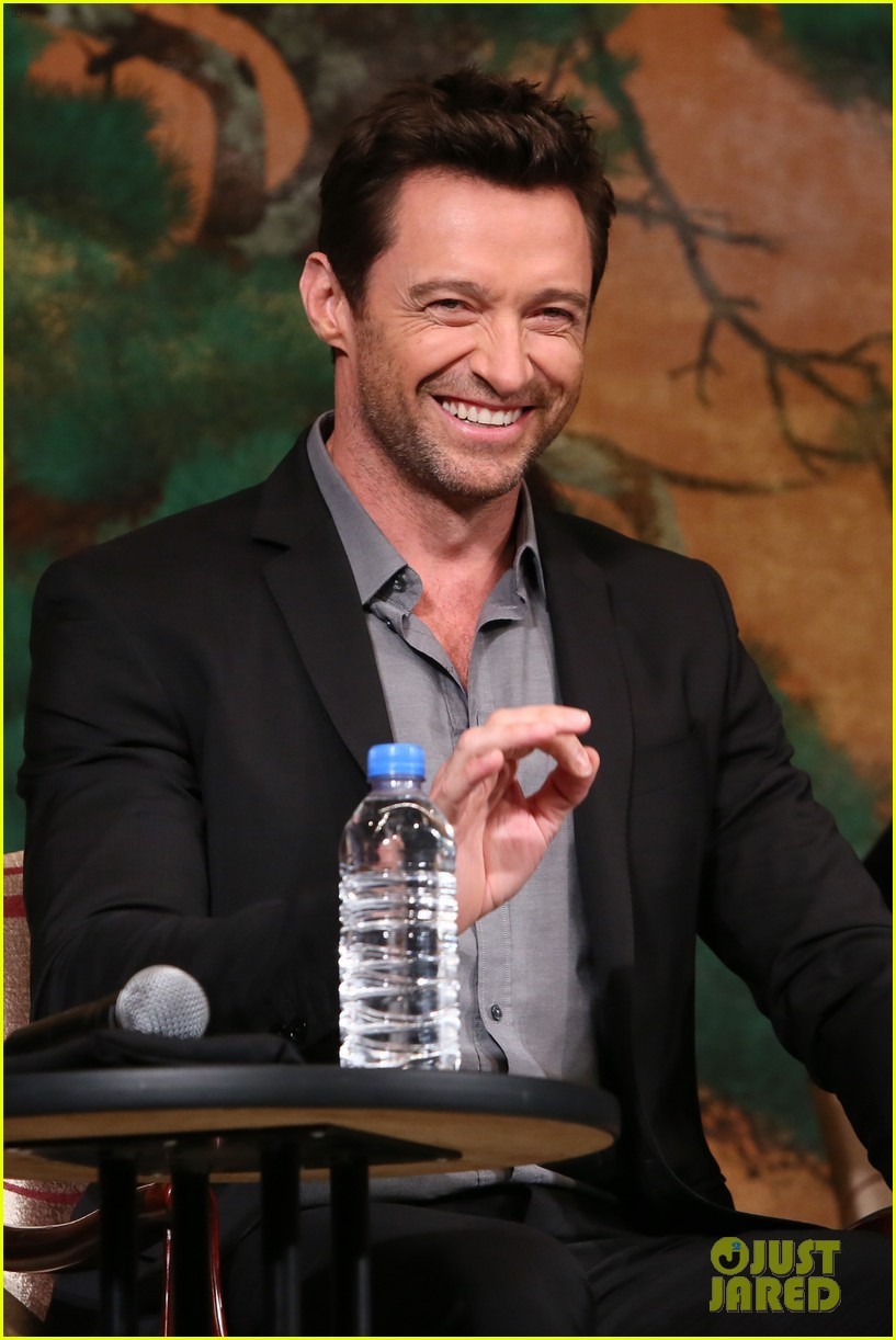 hugh jackman wolverine japan press conference 05