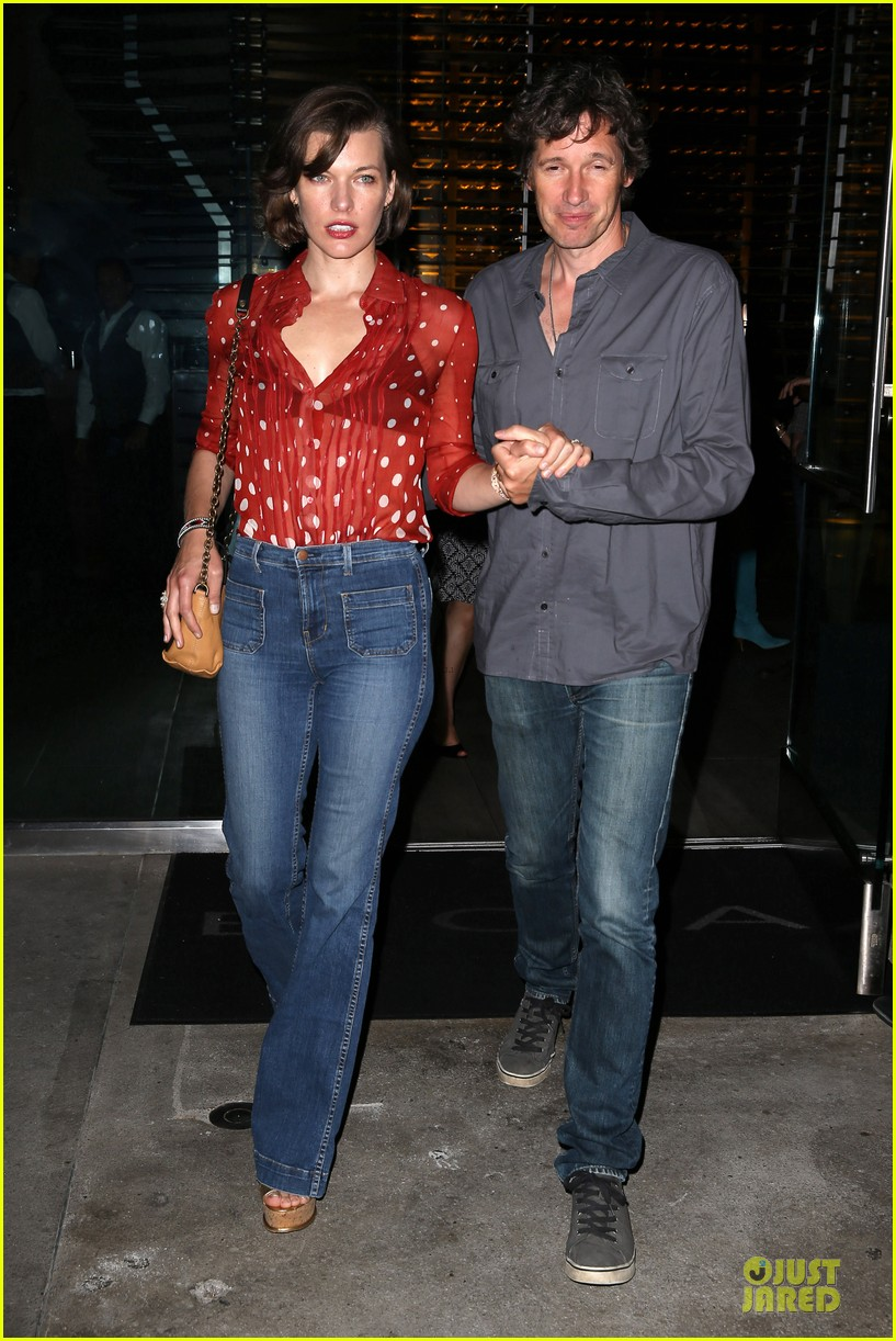 milla jovovich sheer red for paul ws anderson 062922516