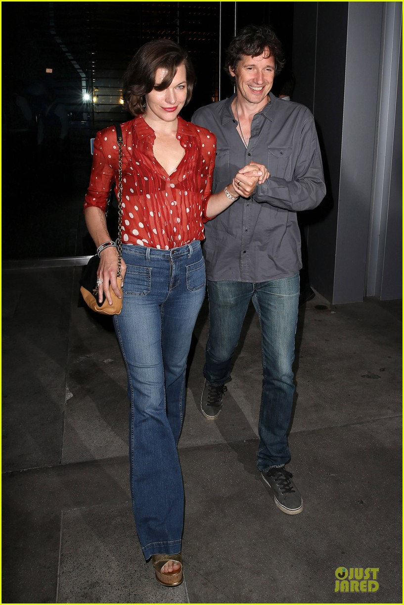 milla jovovich sheer red for paul ws anderson 072922517