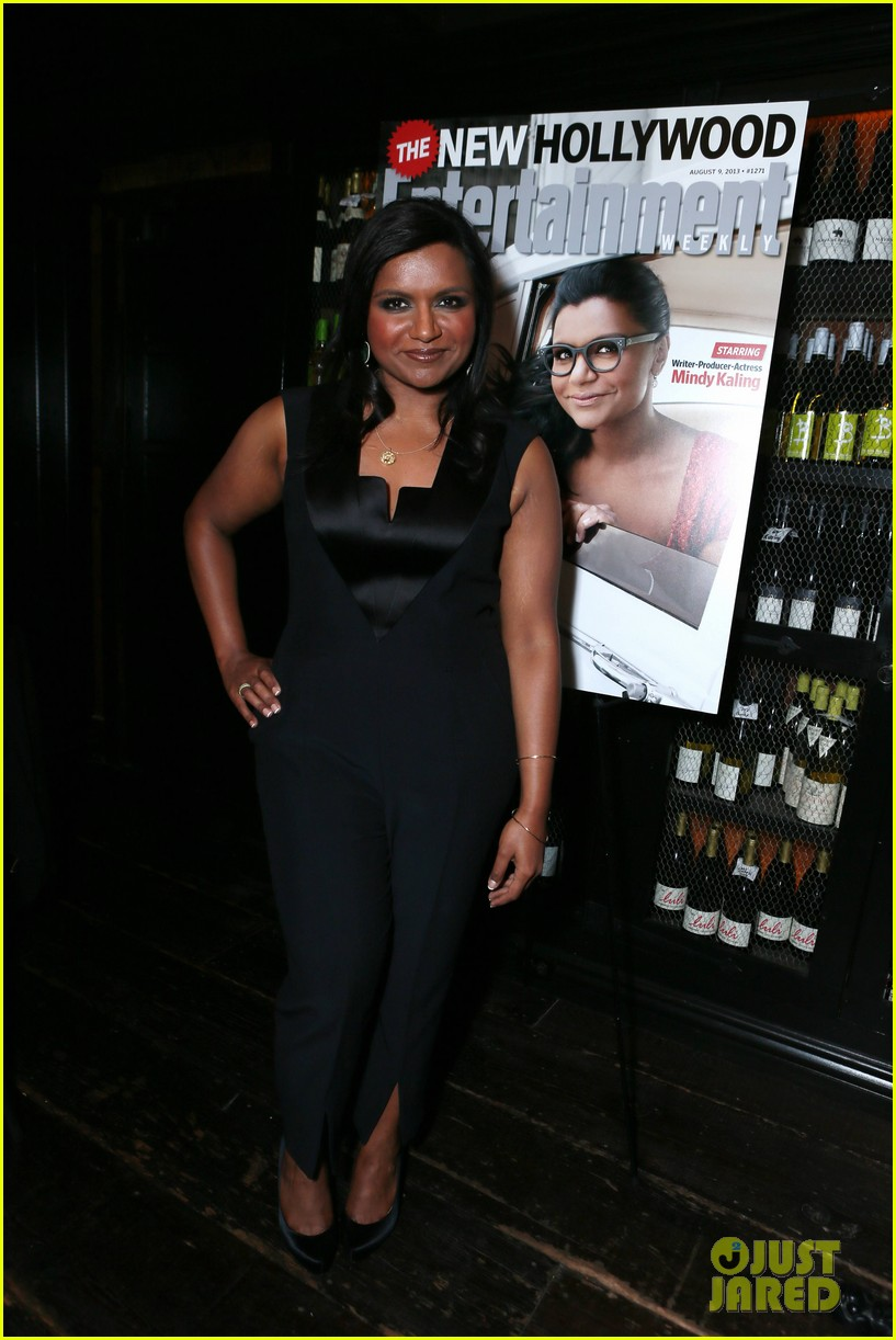 mindy kaling entertainment weekly new hollywood dinner 092926412