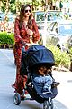 miranda kerr sleepy flynn visit friends 15