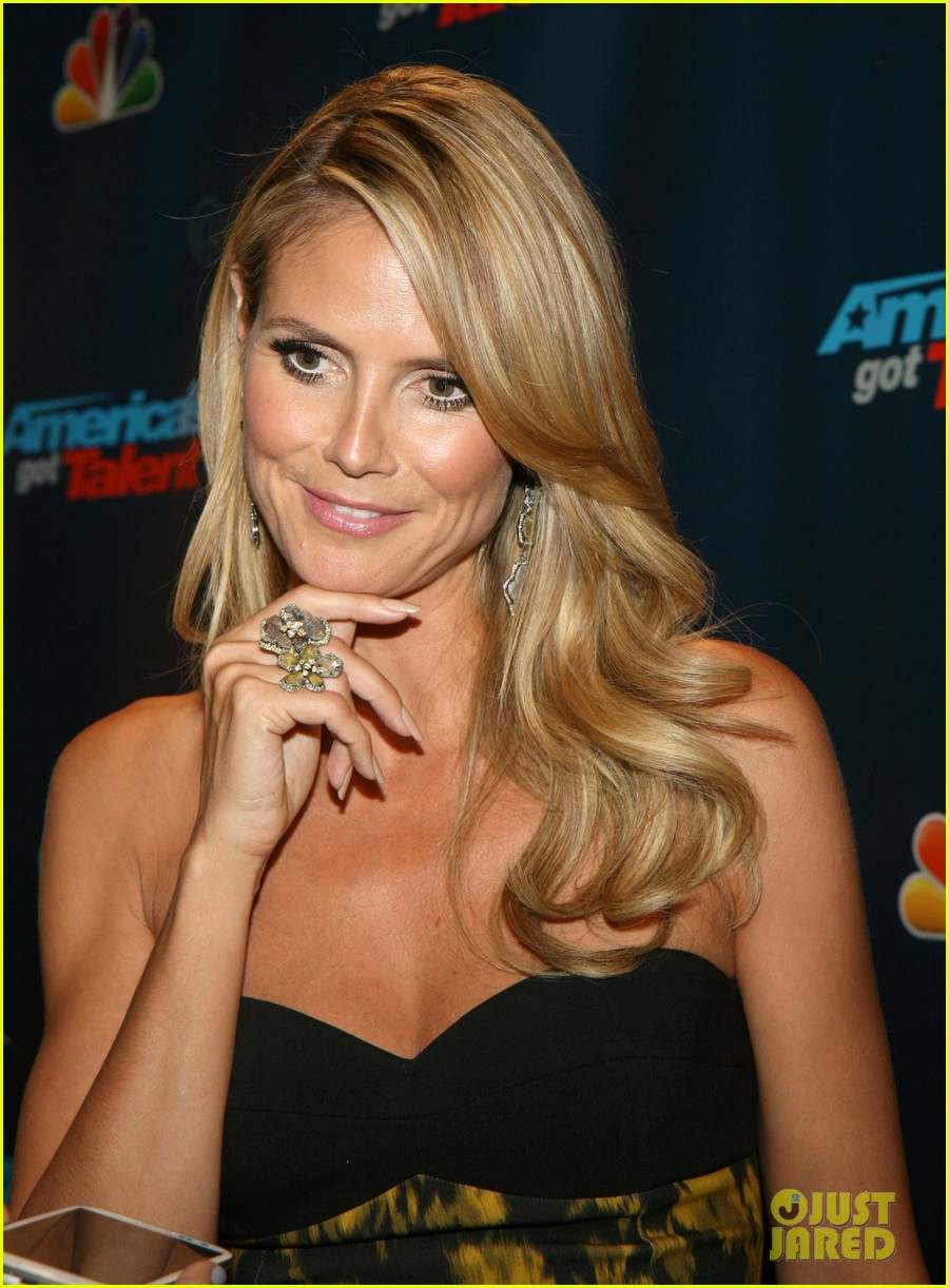 Heidi Klum: 'America's Got Talent' Red Carpet Event!