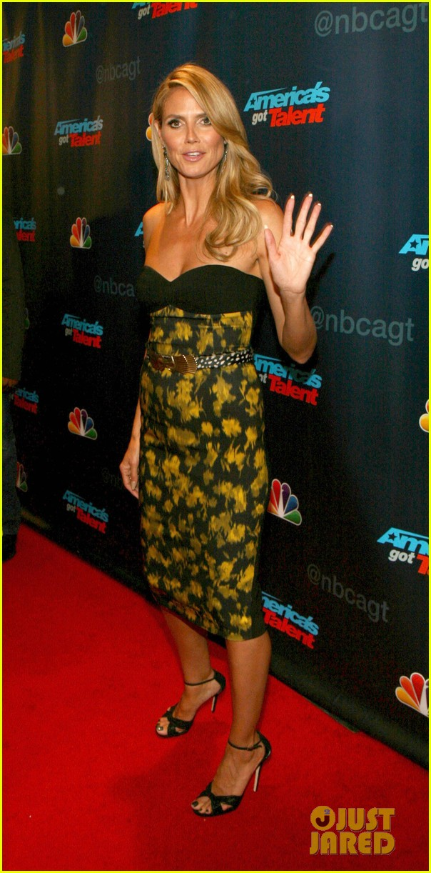 heidi klum americas got talent red carpet party 112921595