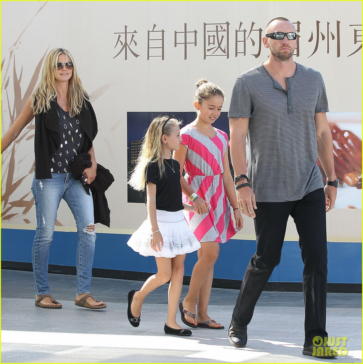 heidi klum enjoys family movie afternoon 012923795