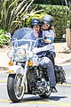 heidi klum martin kirsten motorcycle ride without kids 24