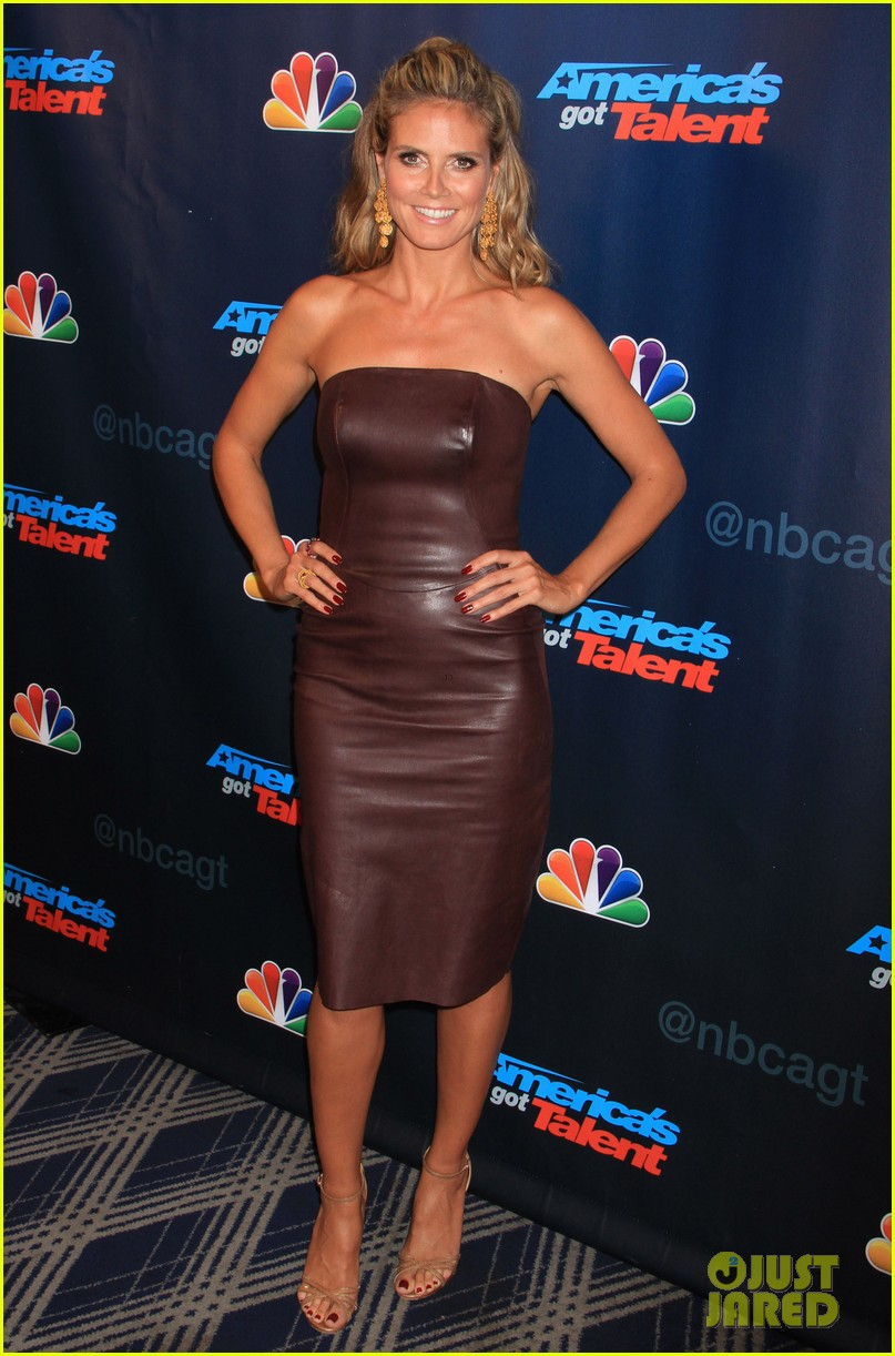 heidi klum mel b americas got talent sixth results show 06