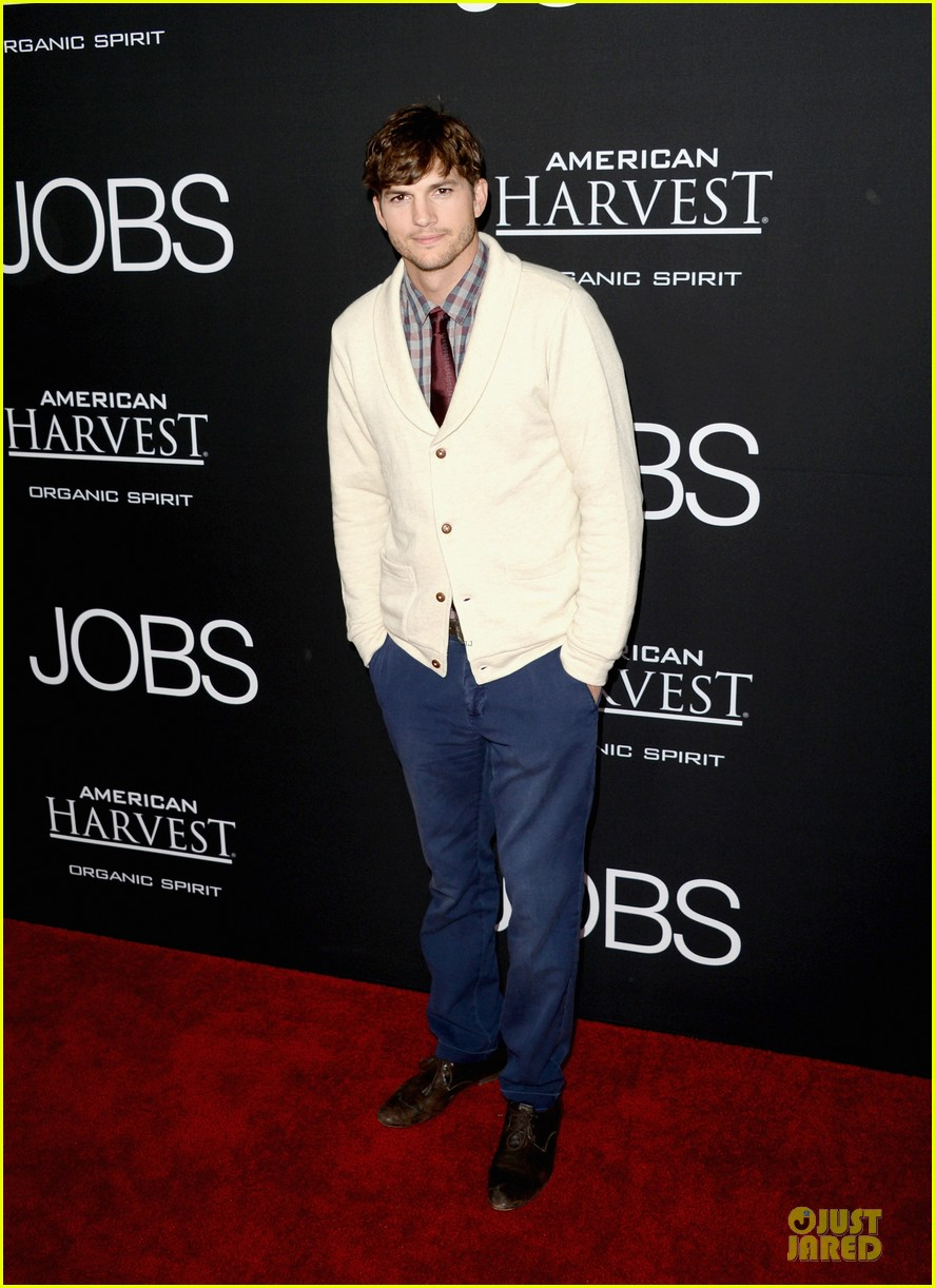 ashton kutcher ahna oreilly jobs la screening 16