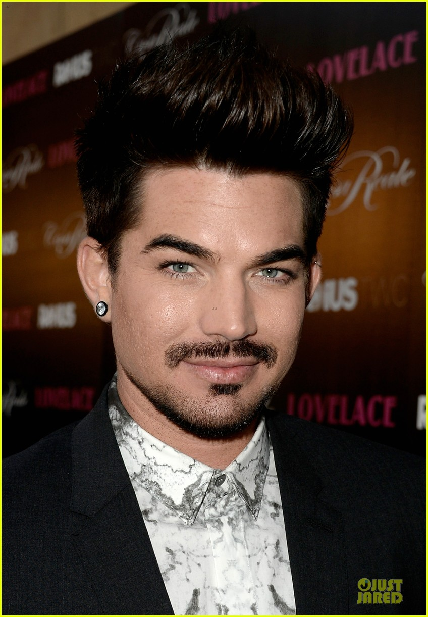adam lambert lovelace hollywood premiere 082924667