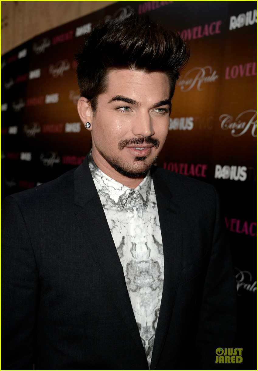 adam lambert lovelace hollywood premiere 112924670