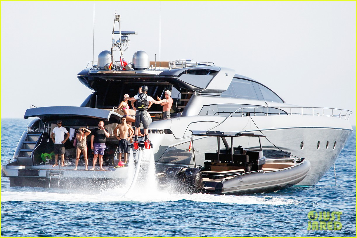leonardo dicaprio flyboards in the air during ibiza vacation 14