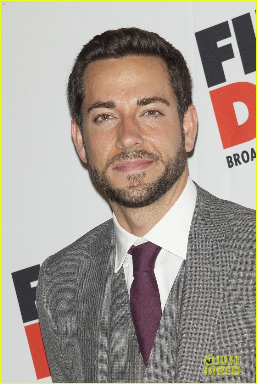 zachary levi krysta rodriguez first date opening night 012926511