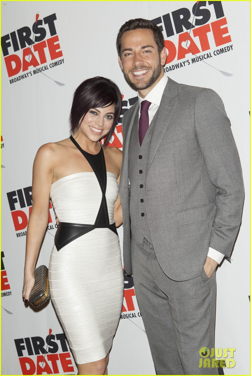 zachary levi krysta rodriguez first date opening night 062926516