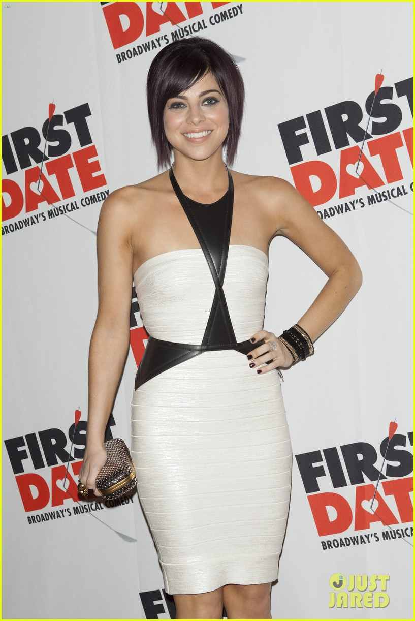 zachary levi krysta rodriguez first date opening night 08