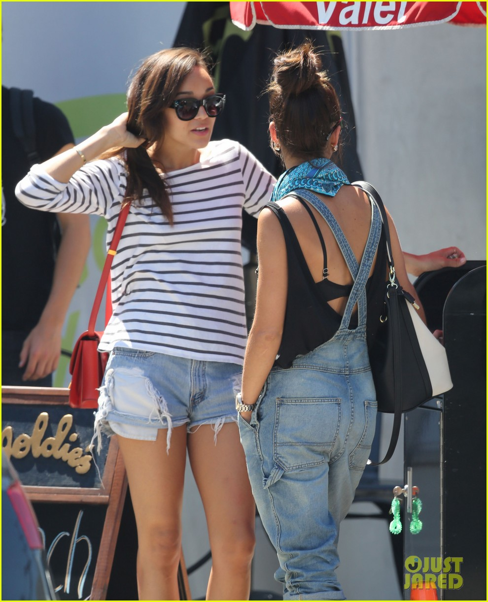 ashley madekwe cara santana izakaya lunch date 07