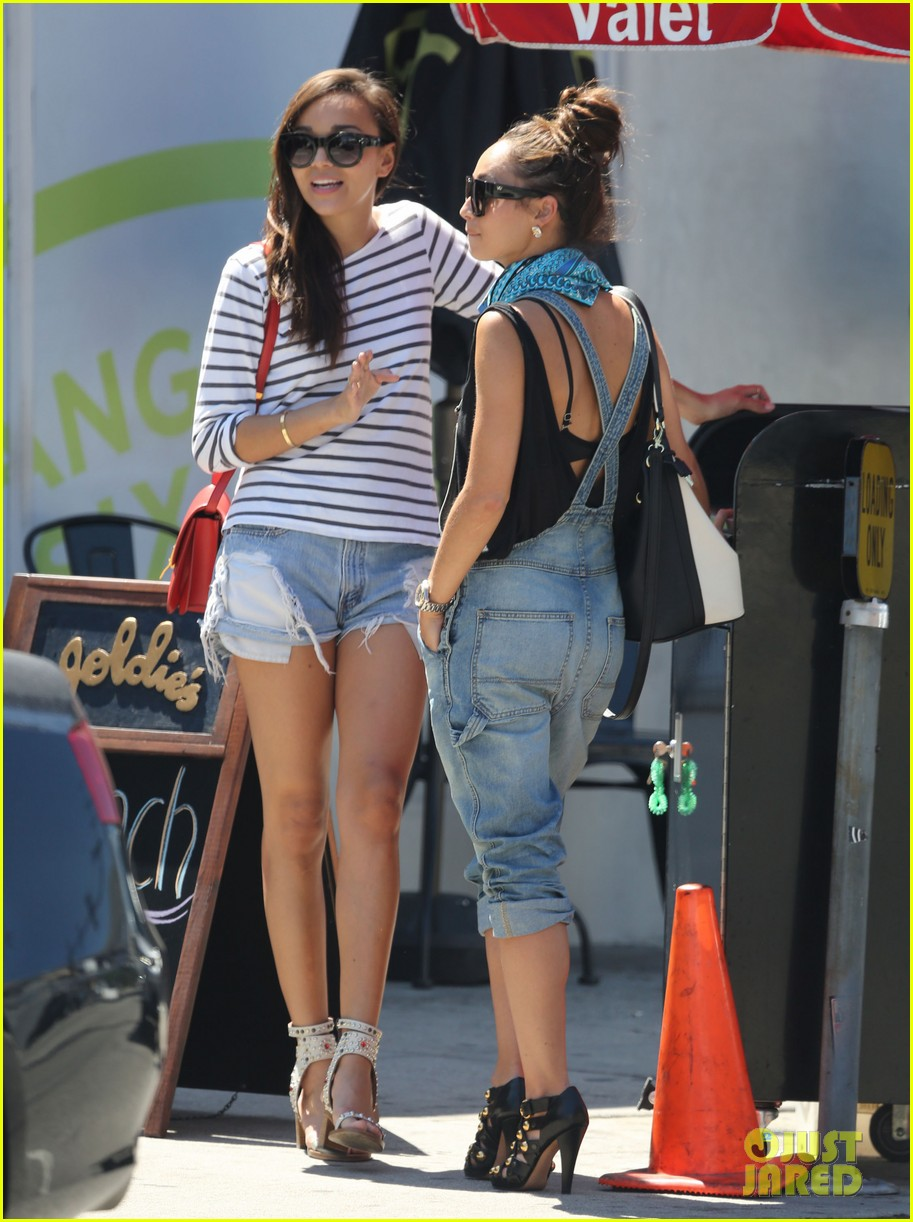 ashley madekwe cara santana izakaya lunch date 08