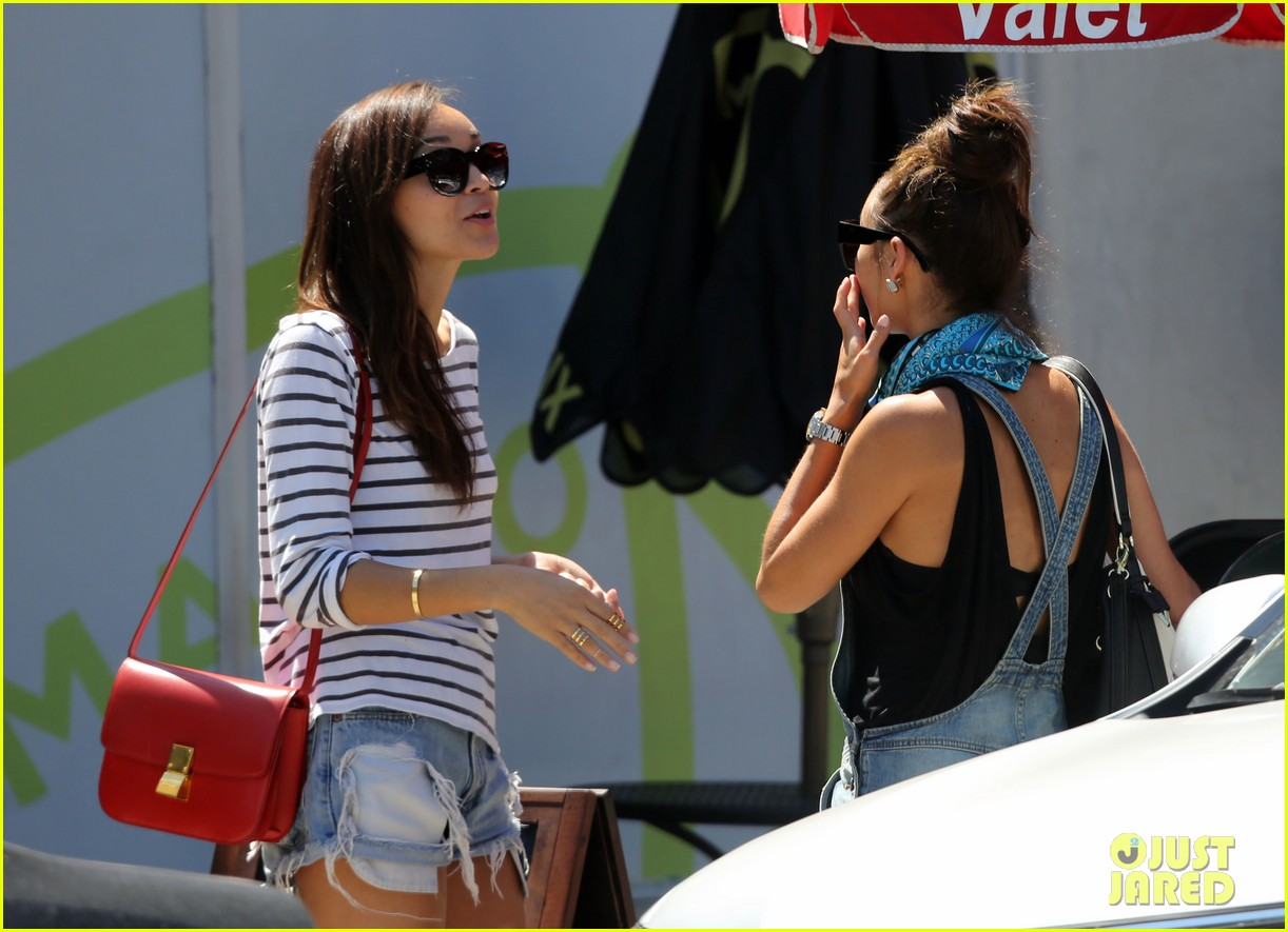 ashley madekwe cara santana izakaya lunch date 12