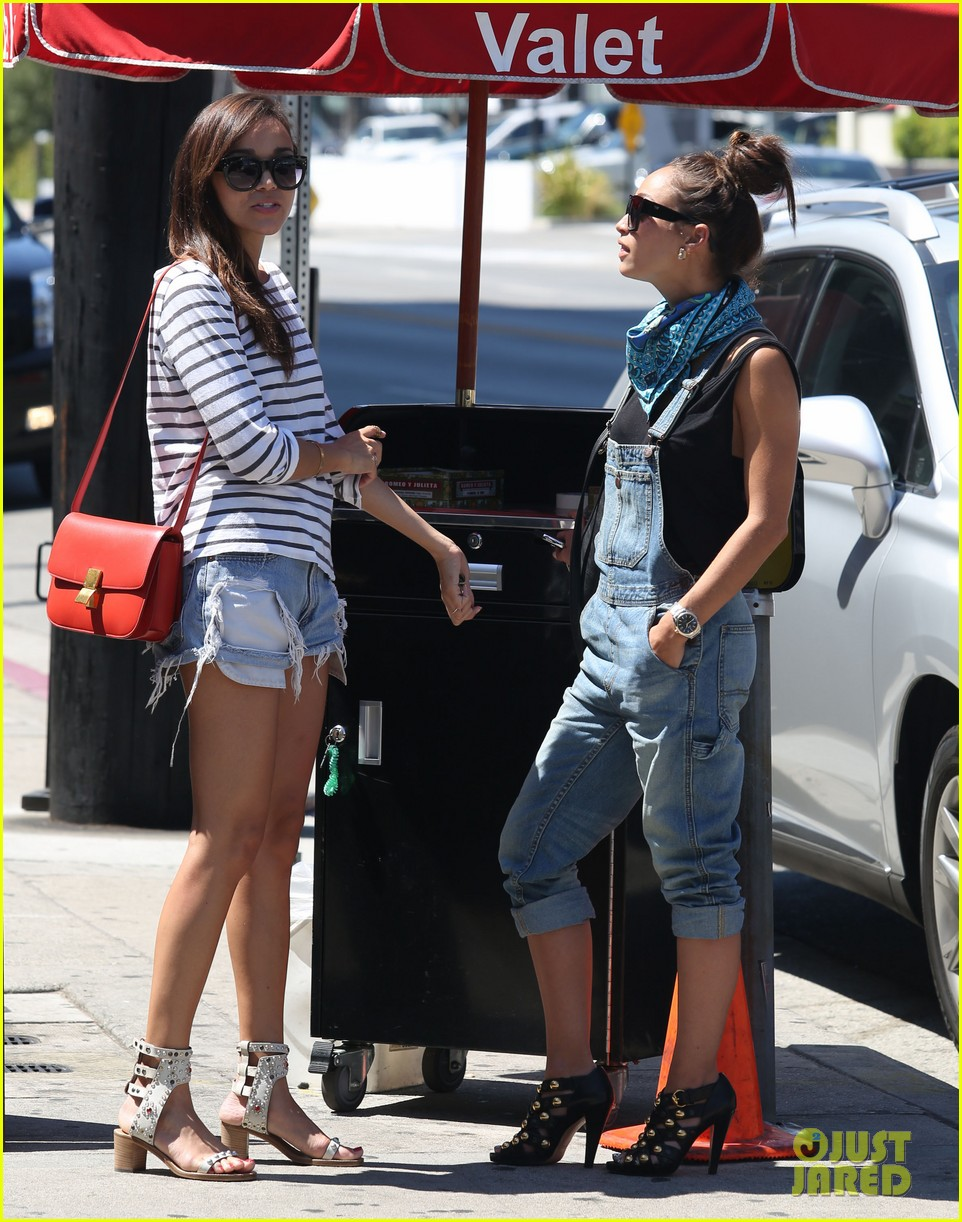 ashley madekwe cara santana izakaya lunch date 242940670