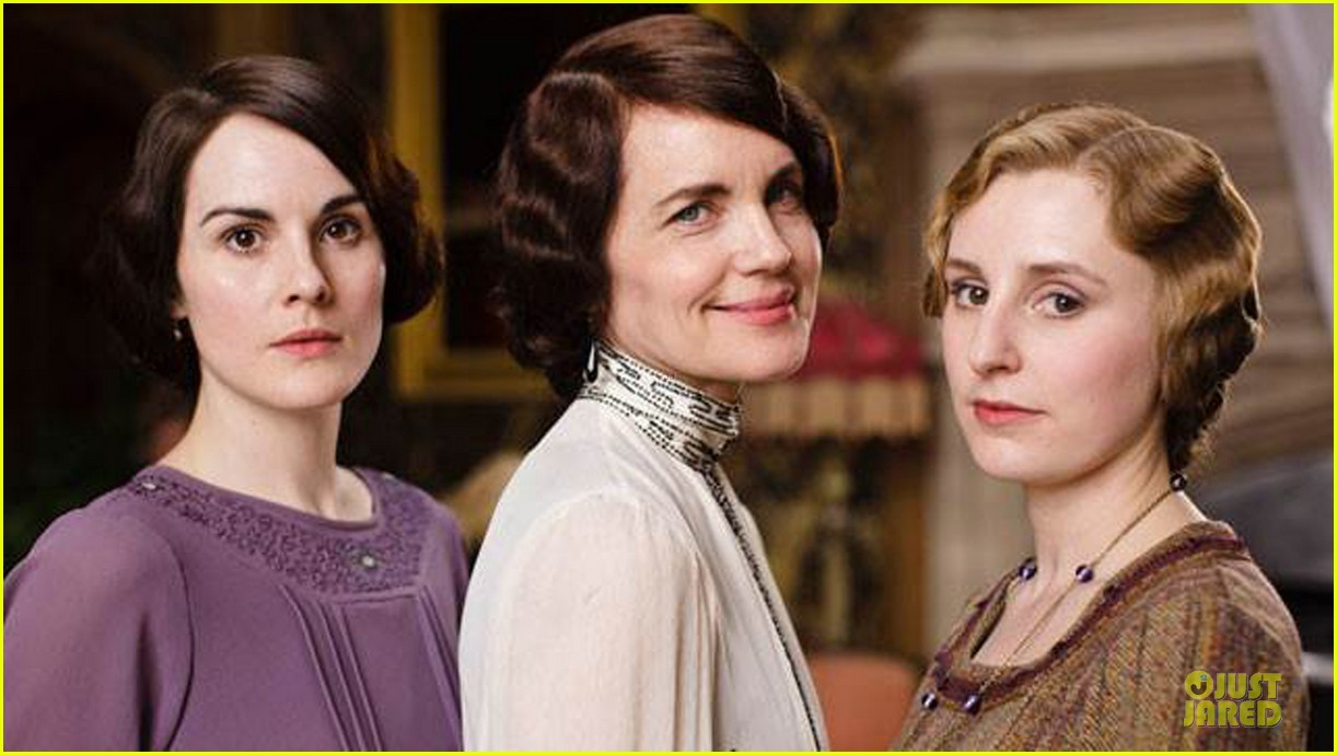 elizabeth mcgovern joanne froggati downton abbey press launch 052929952