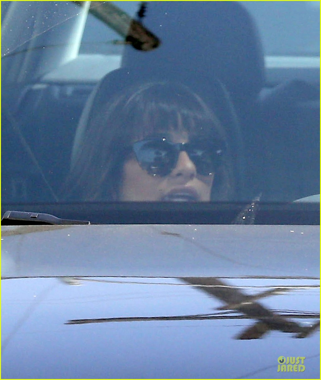 lea michele bravely steps out after cory monteith death 042922835