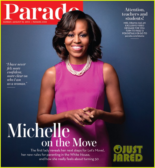 michelle obama covers parade 01
