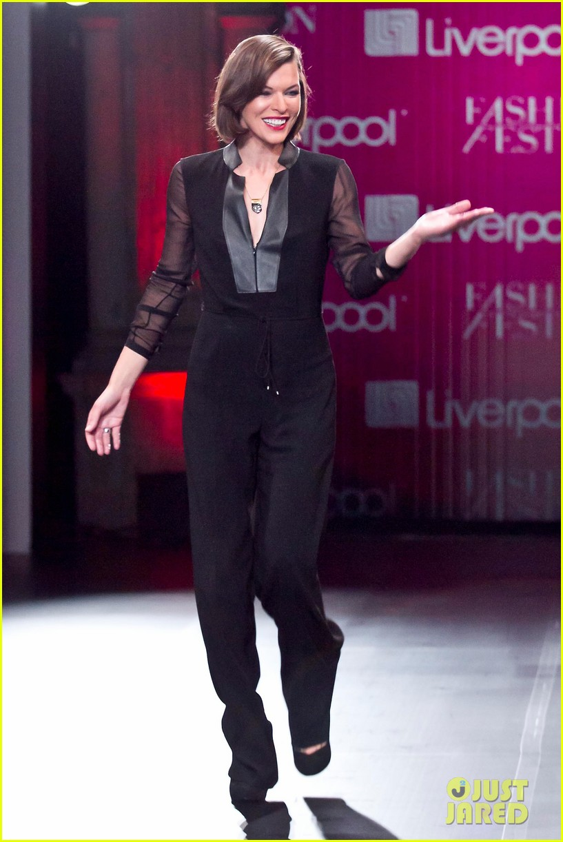 milla jovovich liverpool fashion fest 2013 05