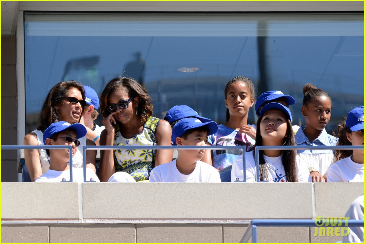 michelle obama ariana grande arthur ashe kids day 2013 29