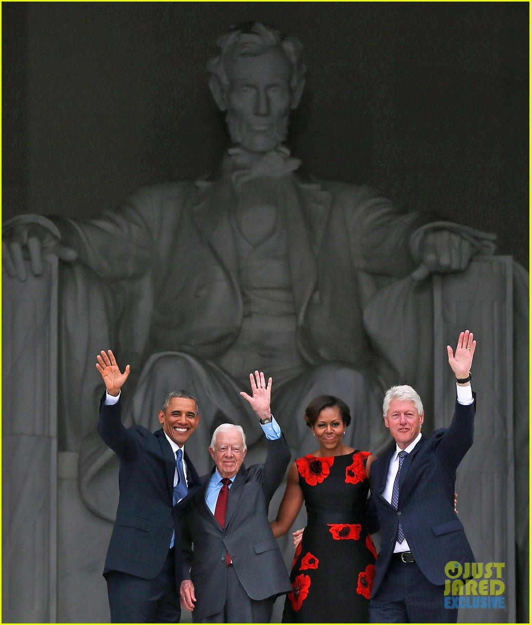 barack michelle obama mark 50 years of i have a dream 172939871