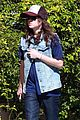 ellen page grocery shops after caution tape day 09