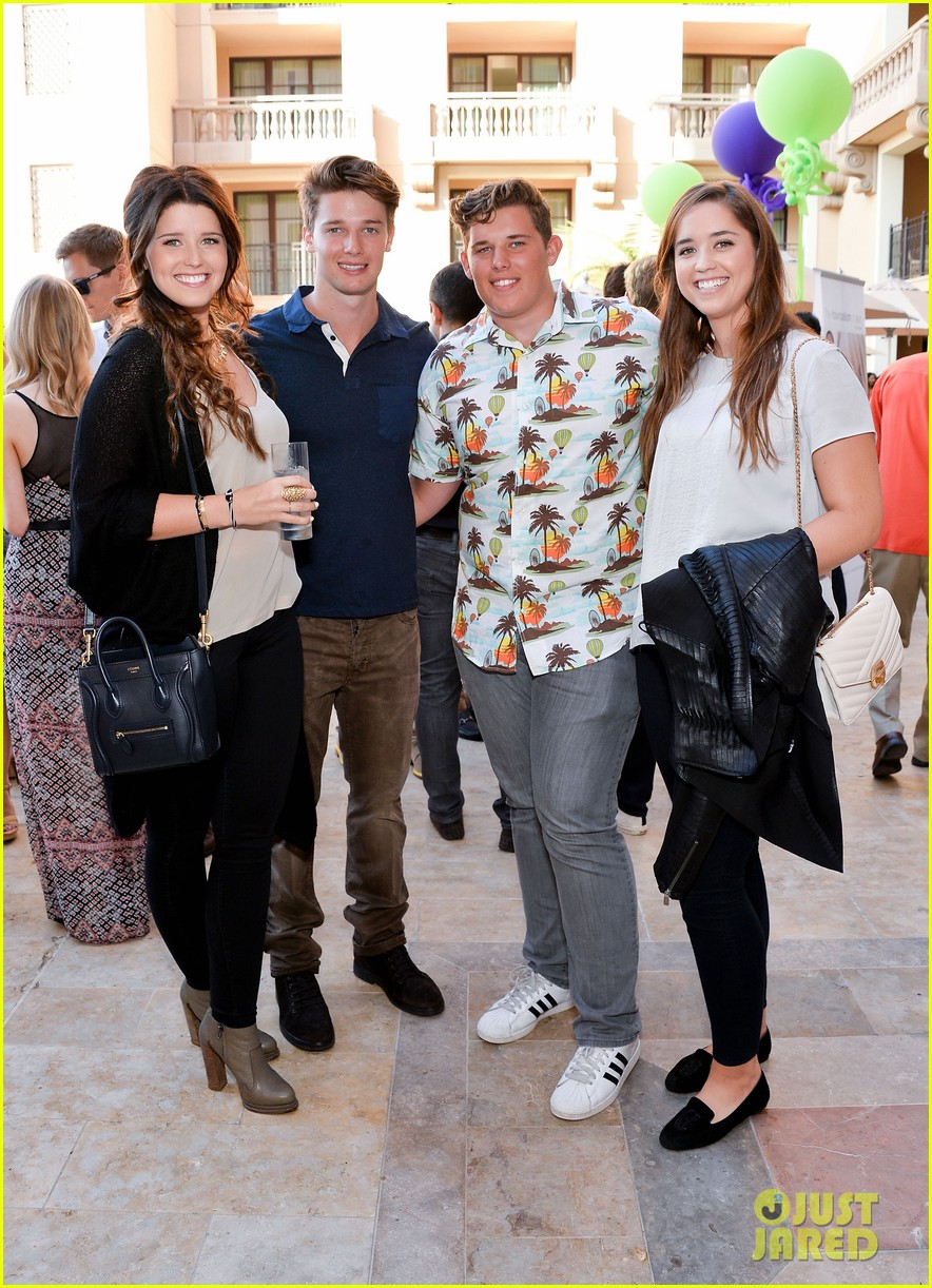 patrick schwarzenegger best buddies benefit with family 052933910