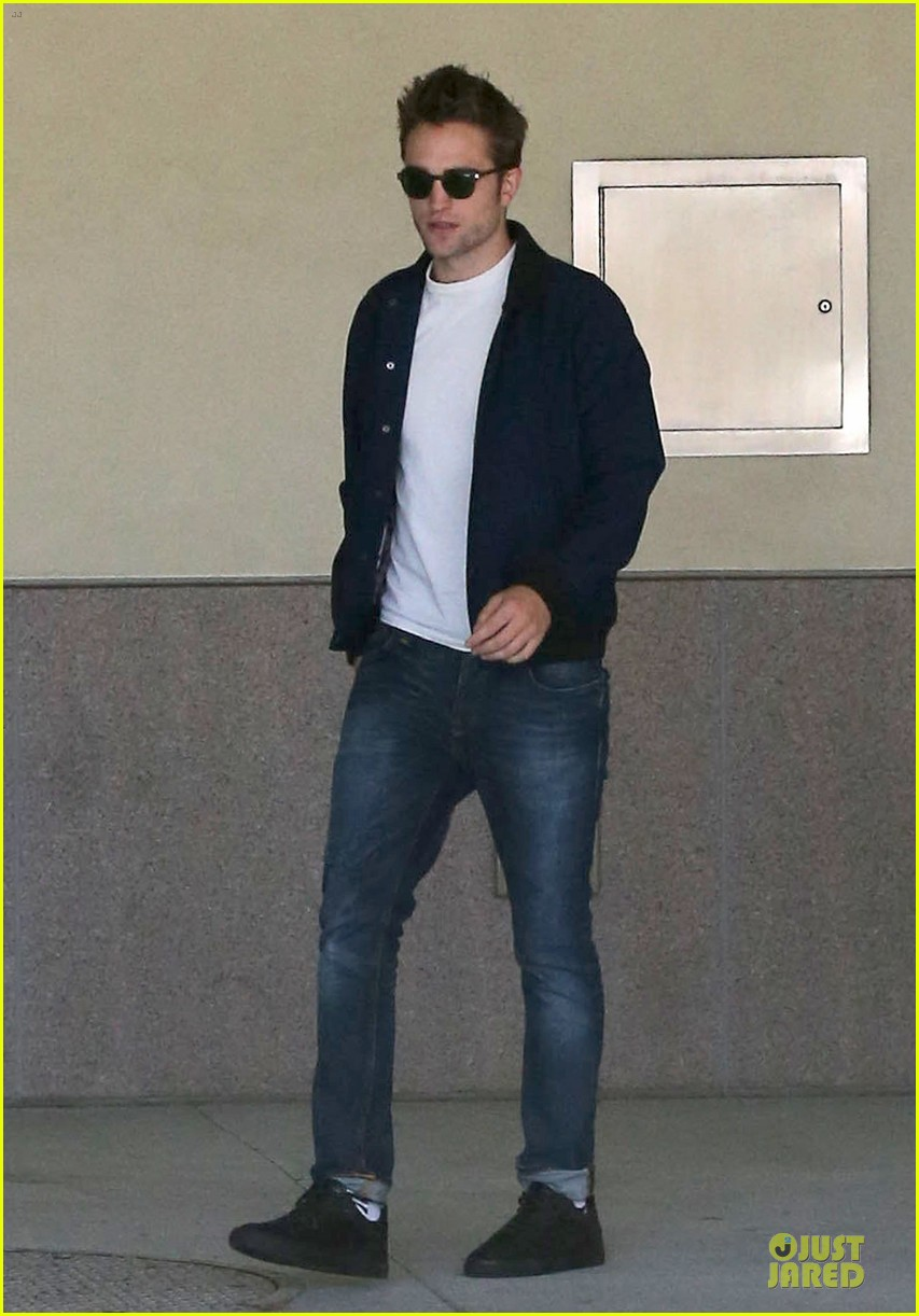 robert pattinson cool office building exit 08