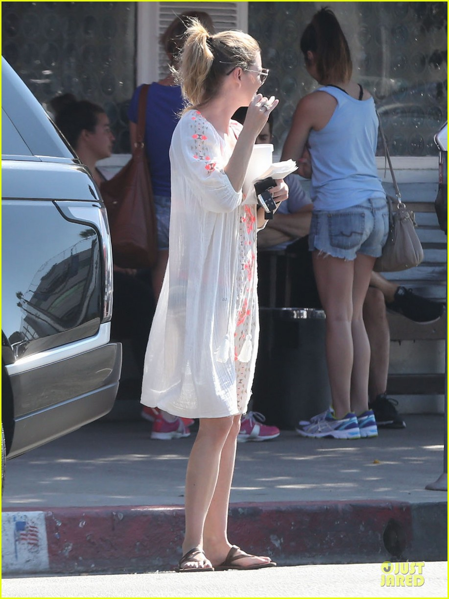 ellen pompeo sports sheer dress for ice cream stop 09