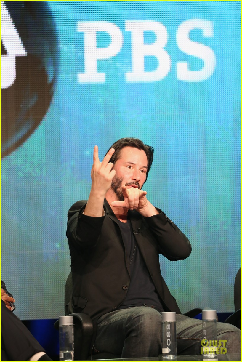 keanu reeves side by side at pbs summer tca tour 25