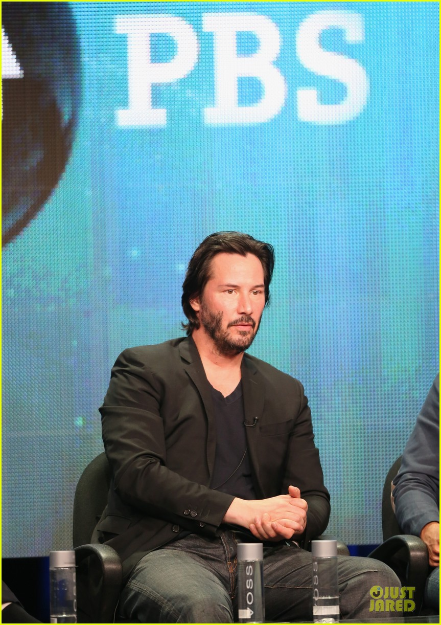 keanu reeves side by side at pbs summer tca tour 272925283