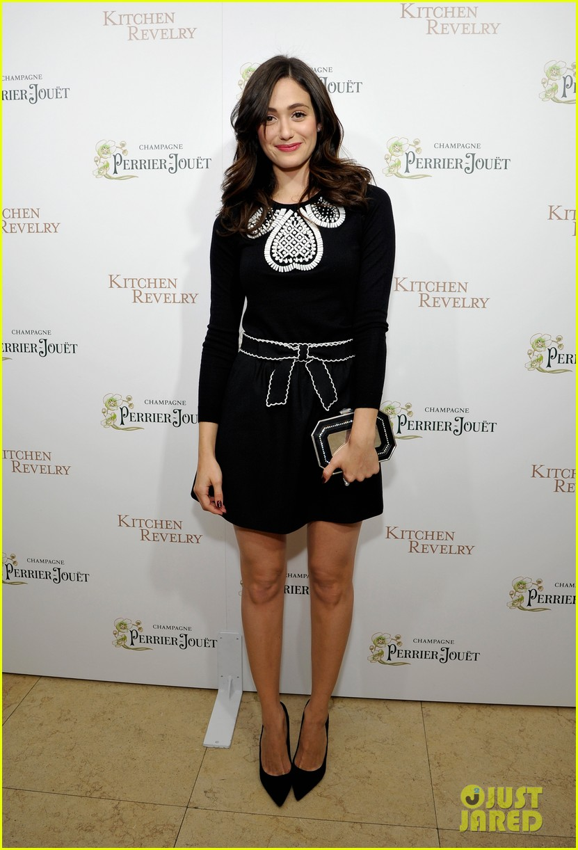 emmy rossum ali larters cookbook release party 06
