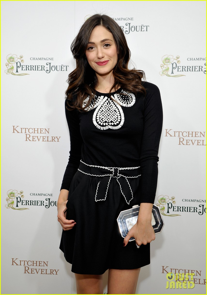 emmy rossum ali larters cookbook release party 072939350